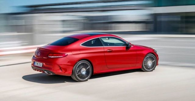 2016 M-Benz C-Class Coupe C250 AMG Line  第3張相片