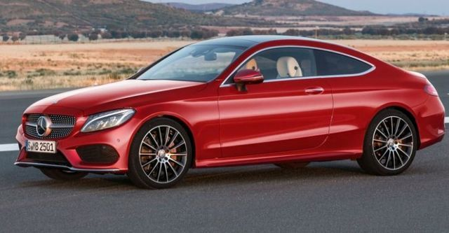 2016 M-Benz C-Class Coupe C250 AMG Line  第5張相片