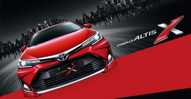 2018 Toyota Corolla Altis 1.8 X