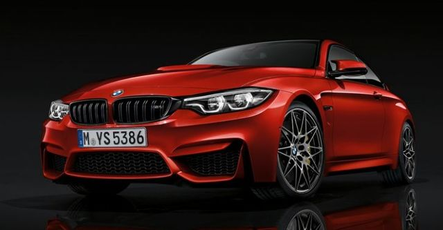 2018 BMW 4-Series M4 Competition自排版