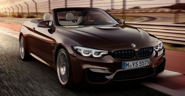 2018 BMW 4-Series Convertible M4  Competition