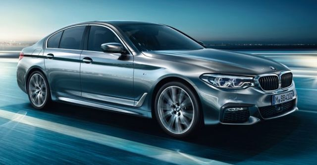 2018 BMW 5-Series Sedan 520d