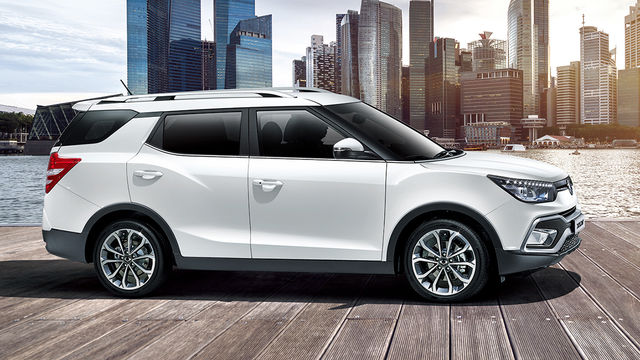 2018 Ssangyong XLV 1.6柴油豪華型AWD