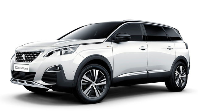 2018 Peugeot 5008 SUV GT Grip Control
