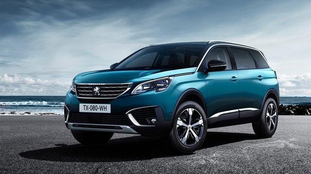 2018 Peugeot 5008 SUV 1.6 BlueHDi Allure