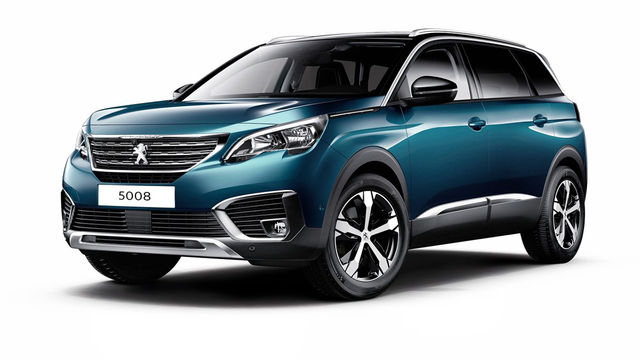 2018 Peugeot 5008 SUV 1.6 BlueHDi Active