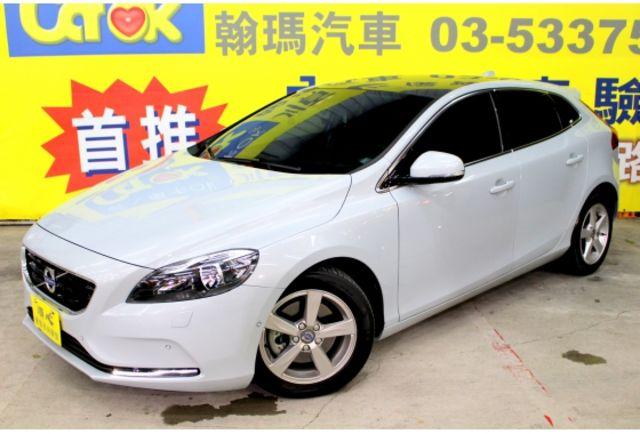 2015年VOLVO V40 1.6T 灰白色 全景天窗 倒車影像