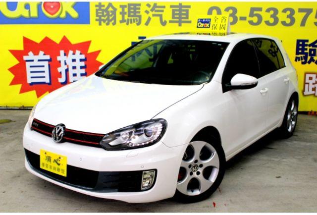 2011年VW GOLF GTI 白色