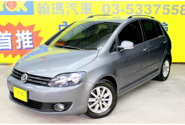 2012年VW GOLF PLUS 1.4TSI 鐵灰色