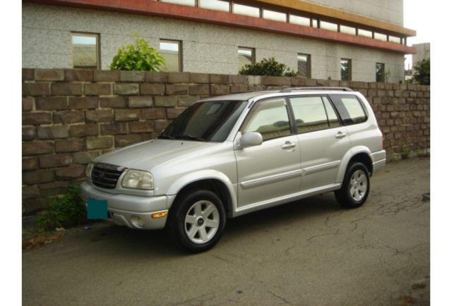正2003年銀色 SUZUKI Grand Vitara XL-7豪華新內裝7人座