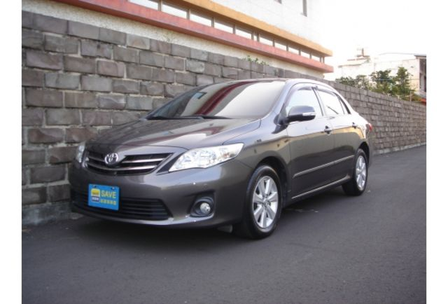 TOYOTA國瑞2011年ALTIS1.8灰色此車都原廠保養