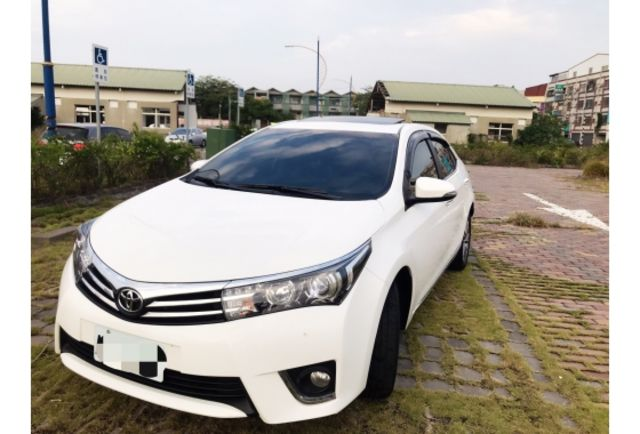 2014年 Toyota Altis (阿提斯) 白色 1.8G