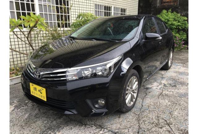 2015年 TOYOTA AlTIS 1.8L 檀木黑 超值優惠車!