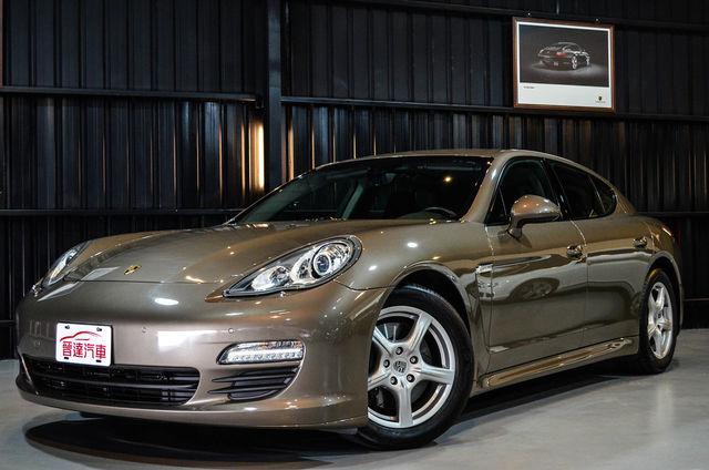 【晉達】2011 Panamera 總代理 僅跑3萬 原廠20吋鋁圈 全車極新