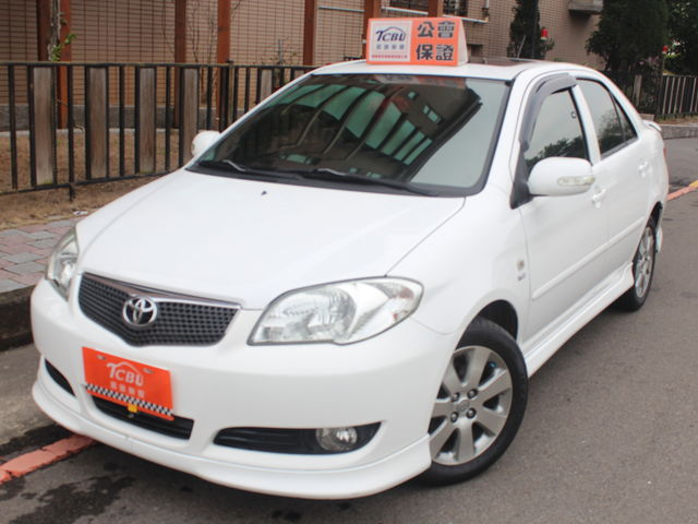 TCBU 嚴選 豐田 2006 vios  1.5