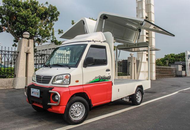 歐力克 胖卡 鷗翼 餐車-驗車會過免拆裝 電動鷗翼 電動油壓尾門 利器一次擁有