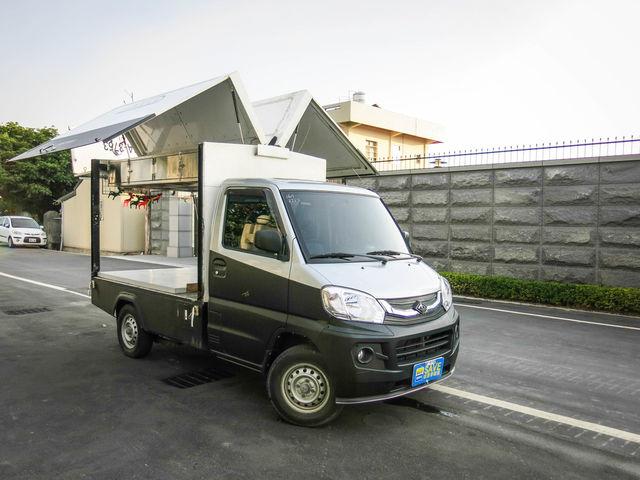 歐力克 胖卡 鷗翼 餐車- 合法驗車 鷗翼餐車 白鐵系統櫃 現場多部餐車供您選