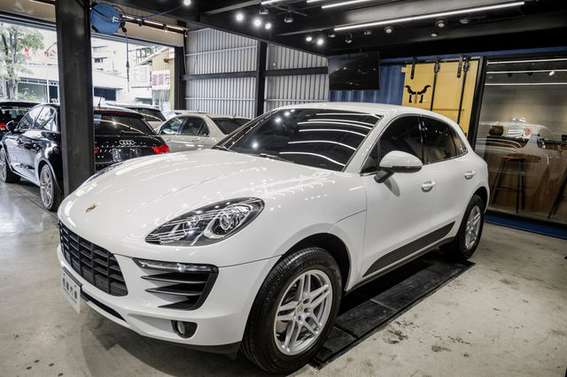 Porsche Macan 2017年 客戶寄售 跑五千多台灣限定限量 恆躍汽車