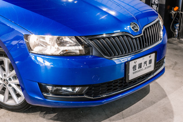 SKODA RAPID 1.4 TSI 2017年 領排車 玻璃車頂 恆躍汽車
