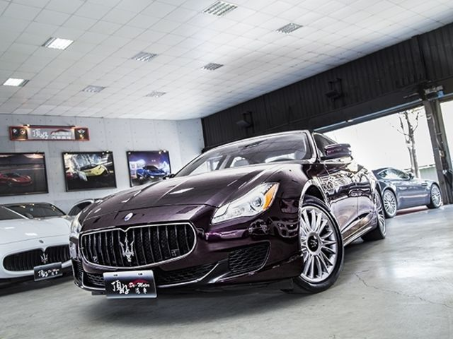 2014 Maserati Quattroporte SQ4 總代理【頂好汽車】