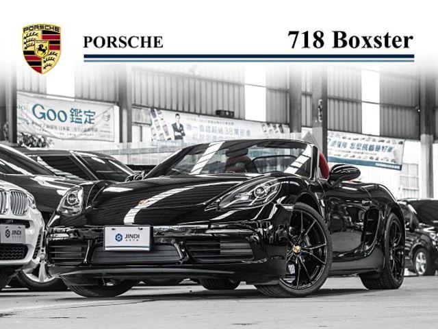 718 Boxster 黑色 新款 多項選配 20吋 總代理