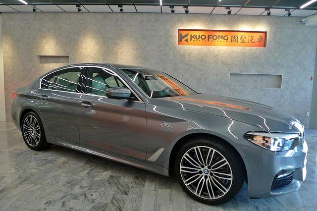 全新車便宜賣BMW 530i M Sport G30 總代理 國豐