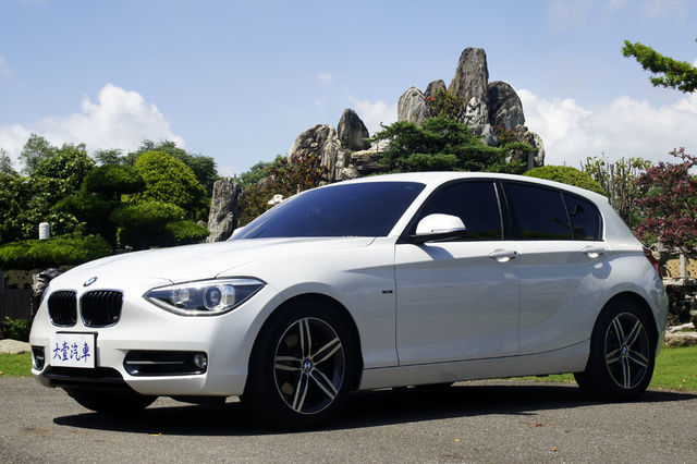 BMW 118i SportLine 2012領照 大螢幕 總代理 - 大壹汽車