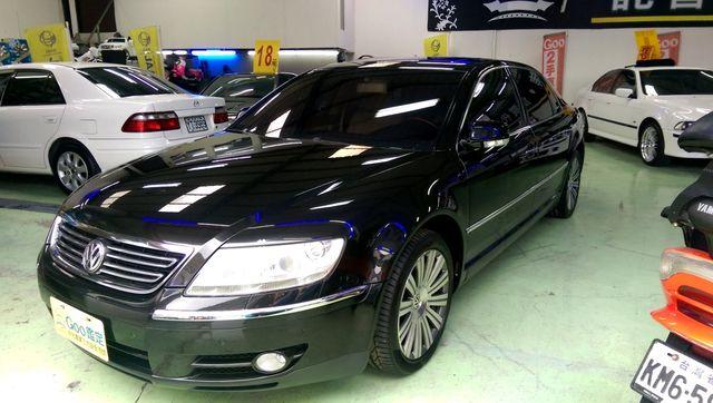 VIP 希有獨立4人座05年新車價約488.8萬福斯 PHAETON 4.2