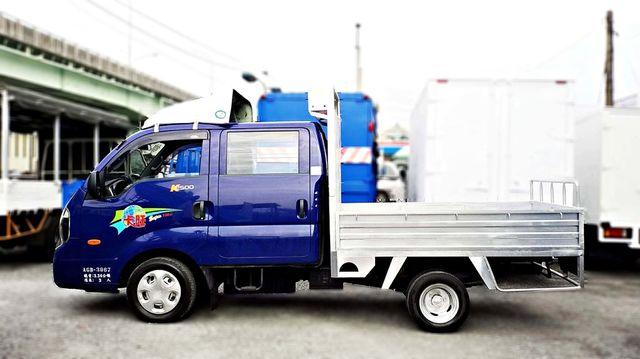BEST-卡旺 雙廂貨車雙車頭貨車 進口貨車 柴油手排 台南卡旺