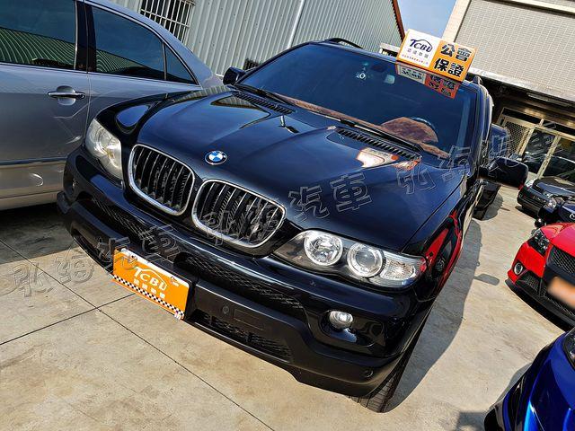 2005年 X5 SPORT 4WD 小改款 天使眼 認證車 車況優 俗俗賣