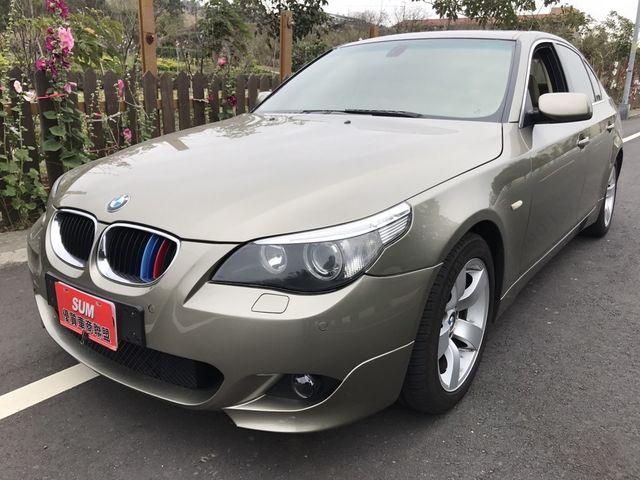 2003年 BMW E60 530i 好美的顏色 歡迎賞車