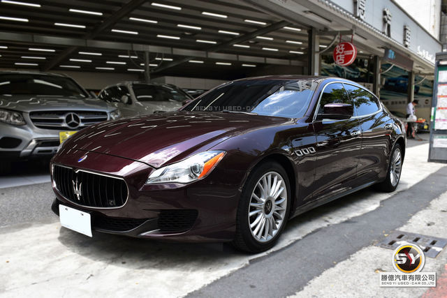 勝億汽車 百大好店 Maserati Quattroporte SQ4 總代理