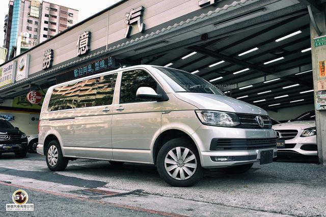 勝億汽車 百大好店 Volkswagen T6 caravelle 9人座長軸版