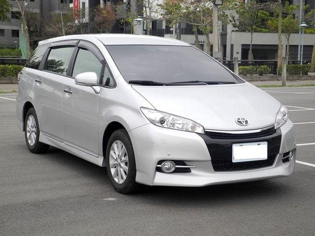 實價登入/保證有車/2015年 豐田 WISH