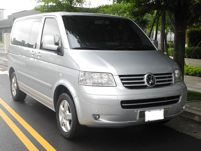 實價登入/保證有車/2008年 VW  Multivan T5 跑少