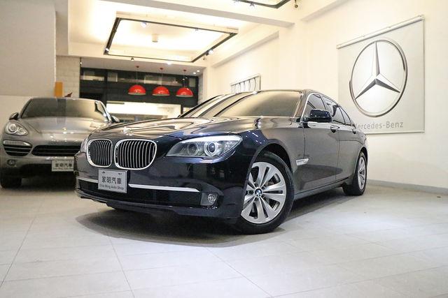 家明汽車 百大好店 - 2012年 BMW 730d Sedan 黑 (總代理)