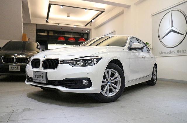 家明汽車 - 2017年 BMW 318i Sedan 白 總代理