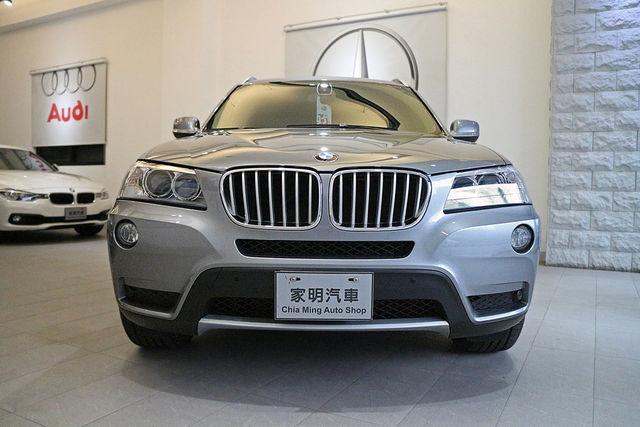 家明汽車 - 2012年式 BMW X3 Xdrive 28i 灰 總代理