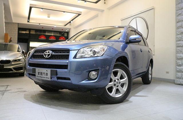 家明汽車 百大好店 - 2009年 Toyota RAV-4 2.4 E 淺藍