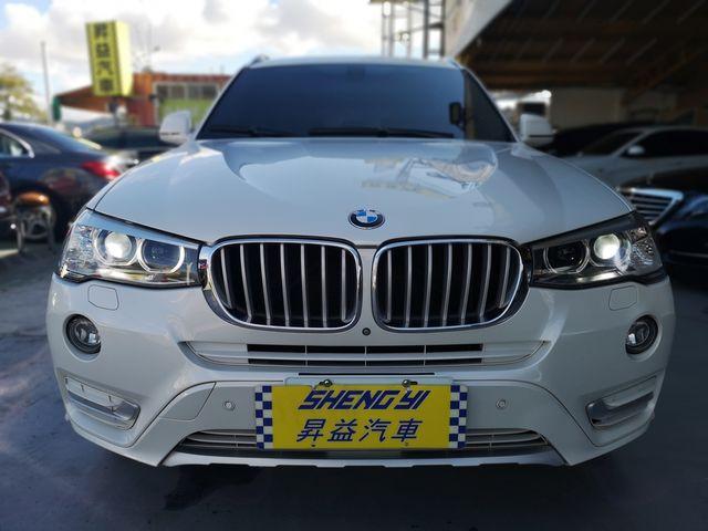 2015年 BMW X3 28i  全景大天窗.有M包