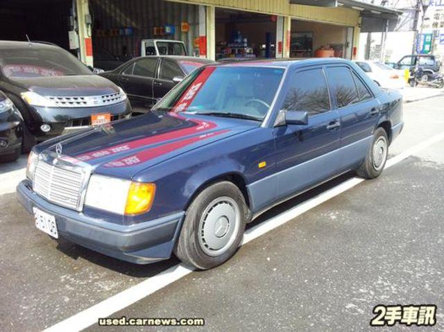 稀有經典柴油300D 整車外匯完稅 未領牌  第1張相片