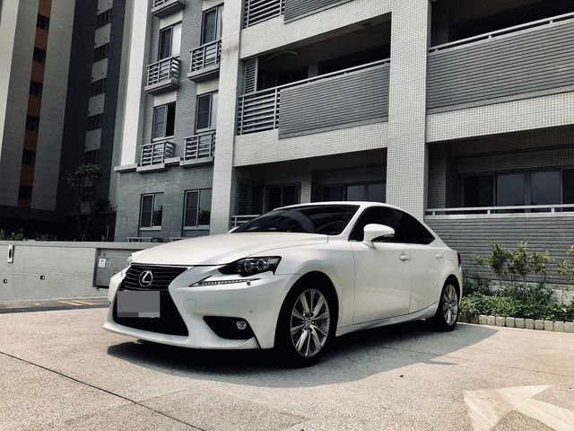 2015 LEXUS  IS250 NAVI版  珍珠白色