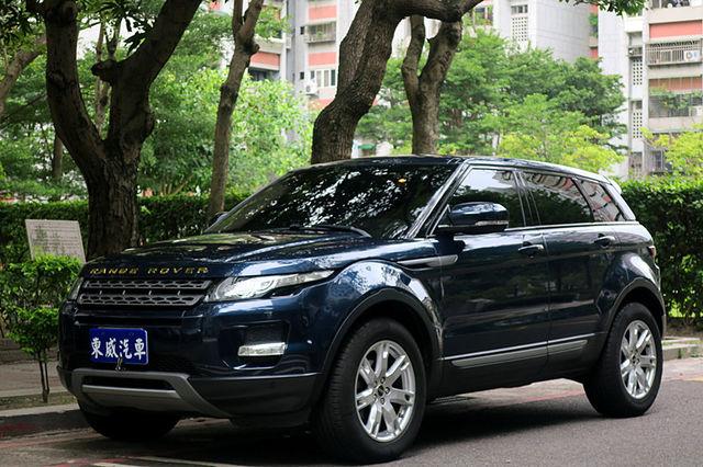 2012 Land Rover Evoque 5D 四驅 導航《東威》