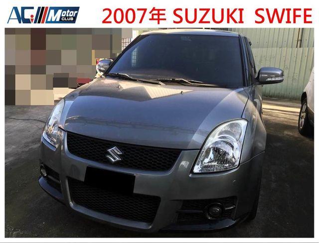(倢輪優質汽車) SUZUKI SWIFE  頂級I-KEY T3大包 帥氣小車