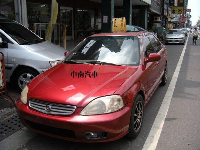 2001年喜美K8.不敗車款.省油的代步車