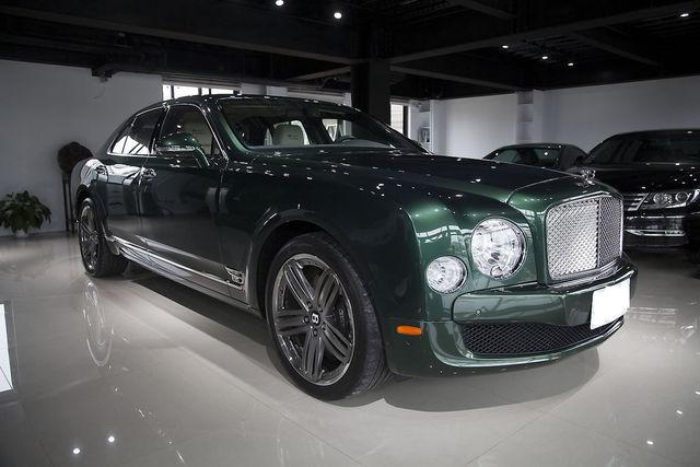 Bentley Mulsanne利曼版全球限量48台身價最高的超級豪華房車