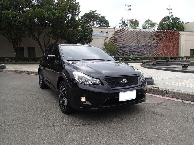 2013年Subaru XV I-S 一手車全程原廠保養 加值電視 導航倒車攝影