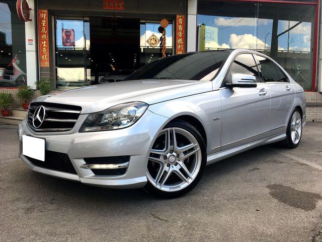 富豪汽車 2012 BENZ W204 C250 AMG 滿配 新春限時特價99