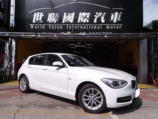 【世聯國際汽車】2014年 BMW 116i 白 豪華版!