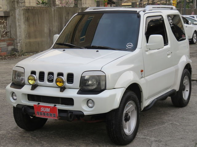 JIMNY 1.3 進口小悍馬 省稅 4WD ABS 雙安 一手車庫車